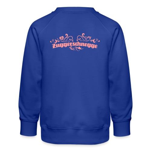 Zuggerschnegge (rosa) - Kinder Premium Pullover