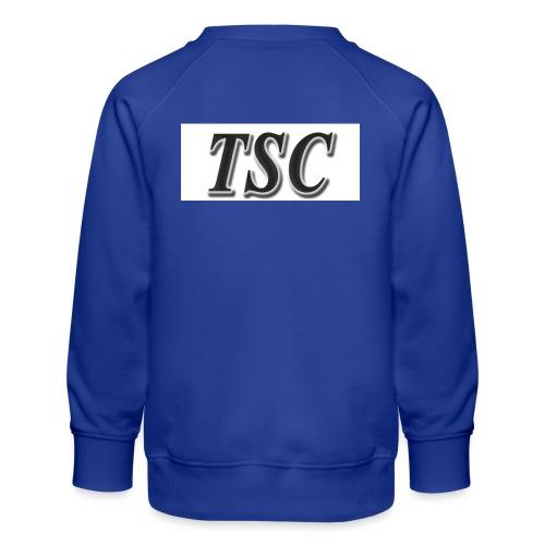TSC Black Text - Kids' Premium Sweatshirt