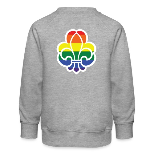 Regnbuespejder jakker og t-shirts mv - Børne premium sweatshirt