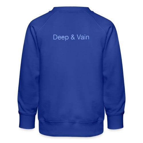 Deep&Vain Text Logo - Kinderen premium sweater
