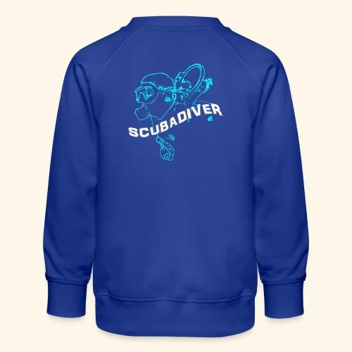 ScubaDiverShirt001 - Kinderen premium sweater