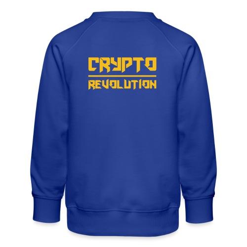 Crypto Revolution III - Kids' Premium Sweatshirt