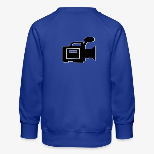 camera - Børne premium sweatshirt
