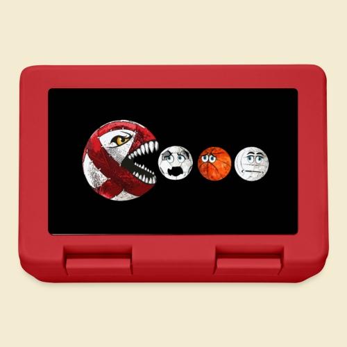 Radball | Red Man Maske - Brotdose