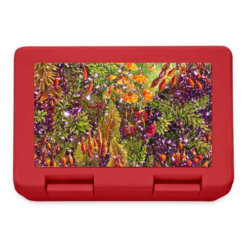 Magic forest flowers meadow fairy tale Fantasia fairy forest - Lunchbox