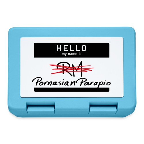 hello my name is Parapio - Lunchbox
