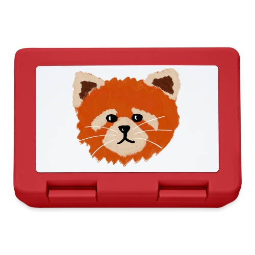 Amanda the red panda - Lunchbox