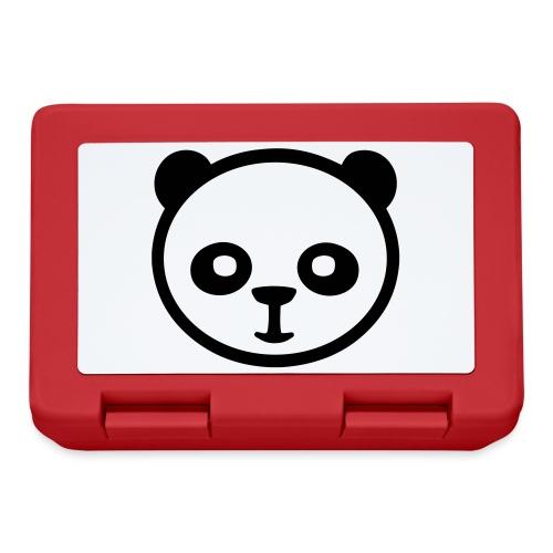 Panda, panda géant, panda géant, ours en bambou - Boîte à goûter.