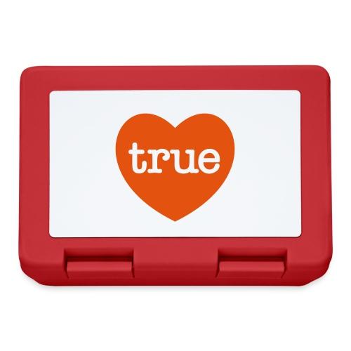 TRUE LOVE Heart - Lunchbox