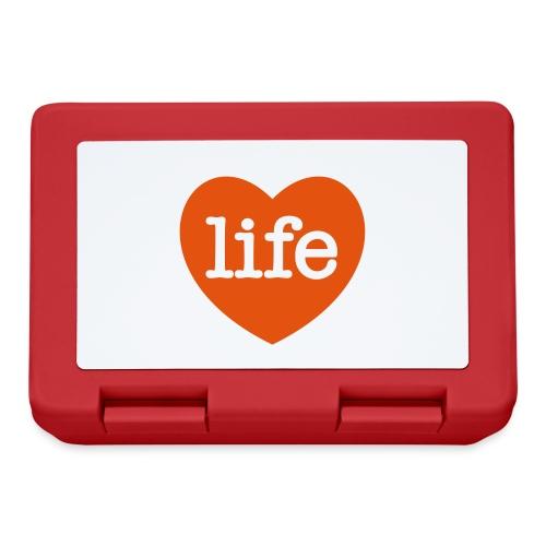 LOVE LIFE heart - Lunchbox