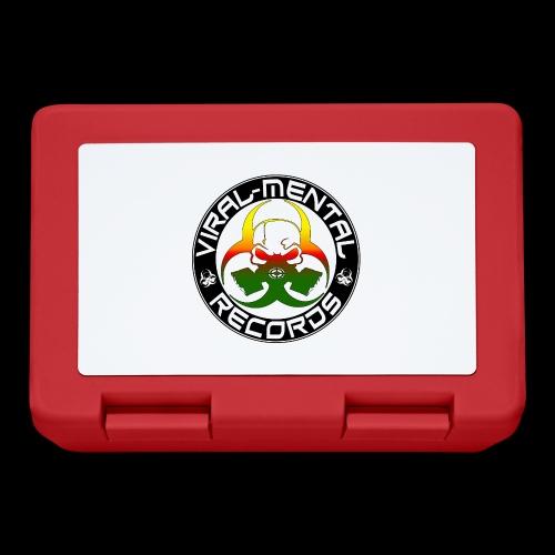 Viral Mental Records Logo - Lunchbox