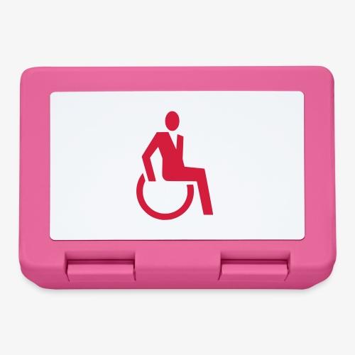 Sjieke rolstoel gebruiker symbool - Broodtrommel
