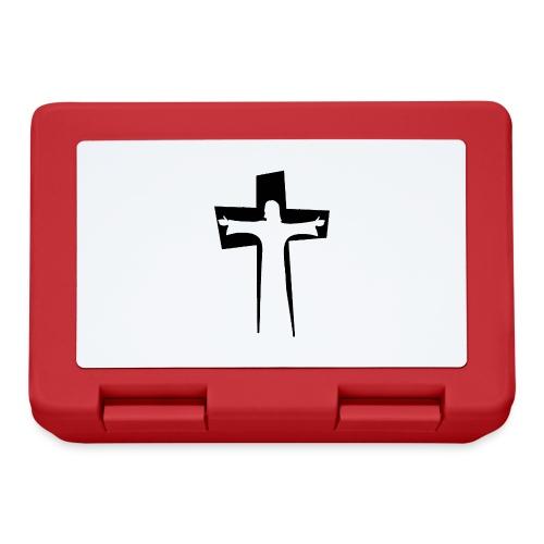 Abstrakt Jesus på korset - Matlåda