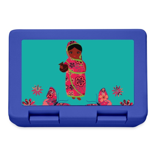 Lovedesh Art: Ira Kolshi Doll & Butterflies - Lunchbox