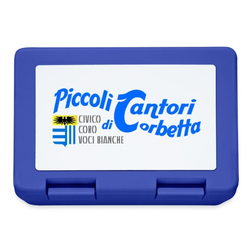 Piccoli Cantori logo blu - Lunch box