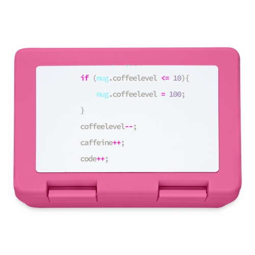 Coffee to Code - Programmer's Mug - Lunchbox