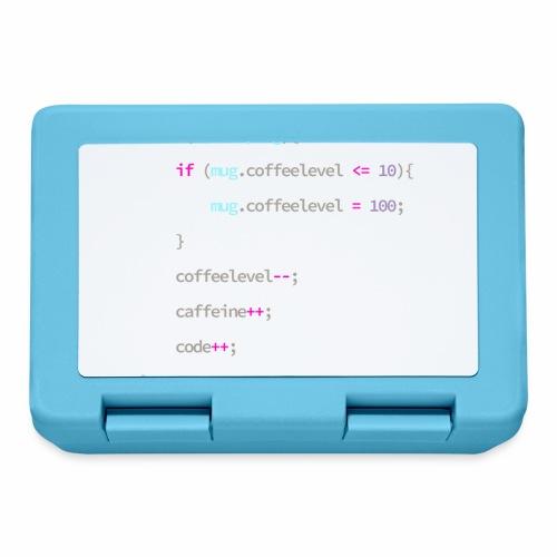 Coffee to Code - Programmer's Mug - Lunchbox