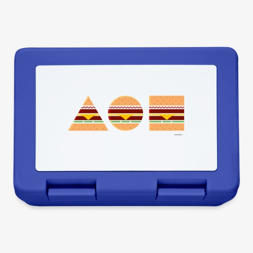 Graphic Burgers - Lunch box