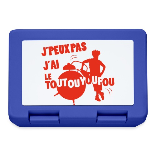 JPEUXPAS ROUGE - Boîte à goûter.
