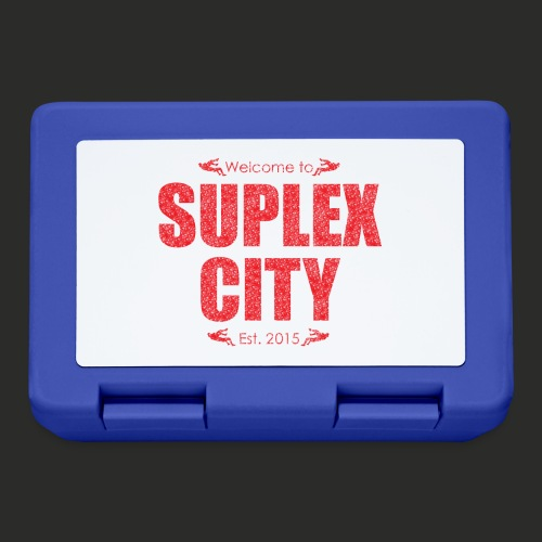 Suplex City Mens T-Shirt - Lunchbox