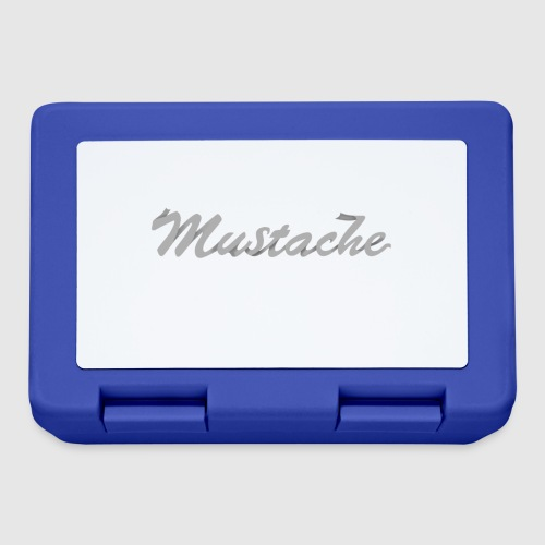 White Lettering - Lunchbox