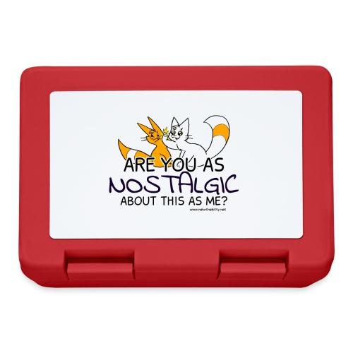Nostalgia Hurts - Lunchbox