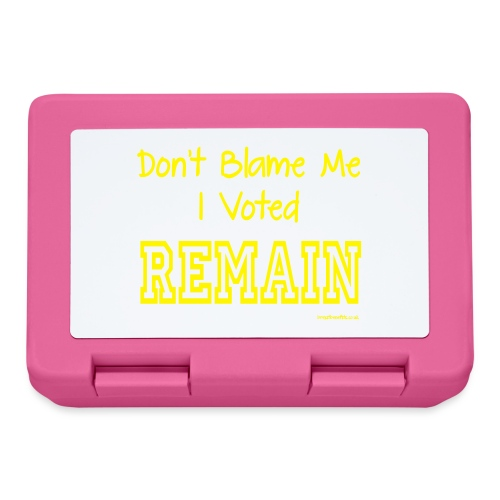 Dont Blame Me - Lunchbox