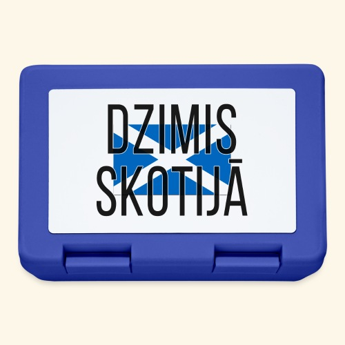 Born in Scotland (Latvian) male only - Lunchbox