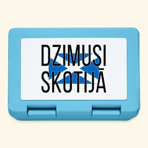 Born in Scotland (Latvian) female only - Lunchbox
