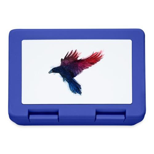 Watercolor Raven - Brotdose