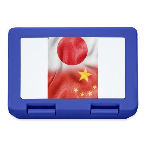 japan china flag - Lunch box