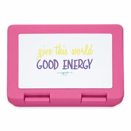 Give this world good energy - Lunchbox