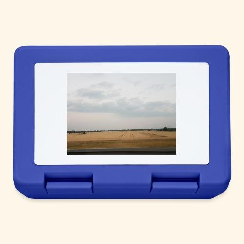 Feld und Wolken - Brotdose
