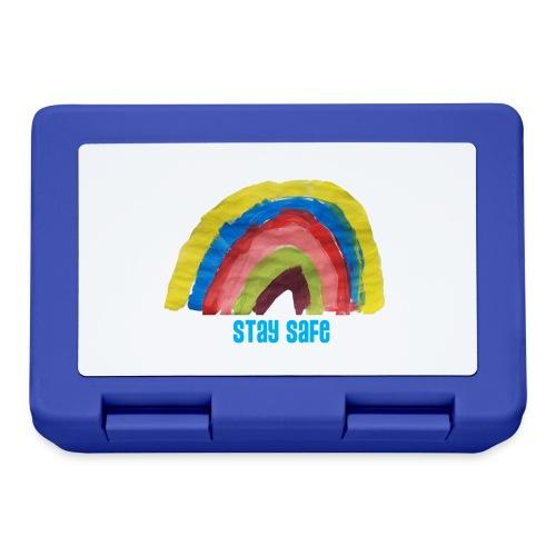 Stay Safe Rainbow Tshirt - Lunchbox