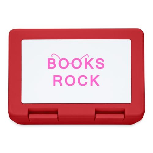 Books Rock Pink - Lunchbox