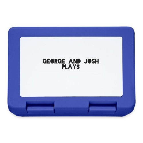 George-and-Josh-Plays-Merch - Lunchbox