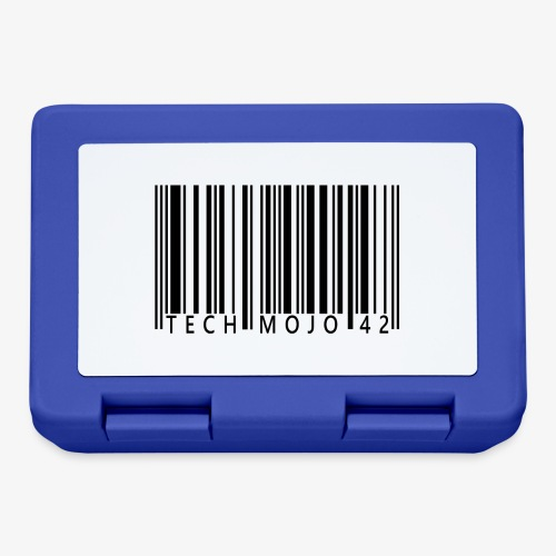TM graphic Barcode Answer to the universe - Lunchbox