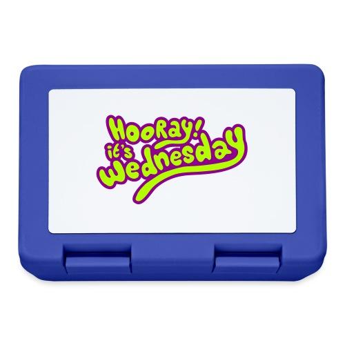 Hooray! it's Wednesday - Lunchbox