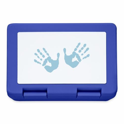 Hands - Hände - Brotdose
