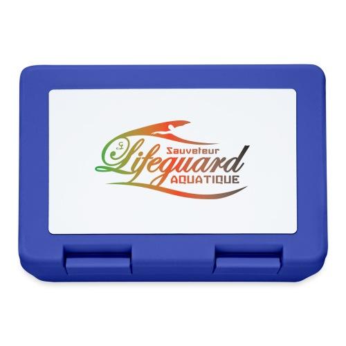 lifeguard multicolor - Boîte à goûter.