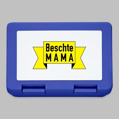 Beschte Mama - Auf Spruchband - Brotdose
