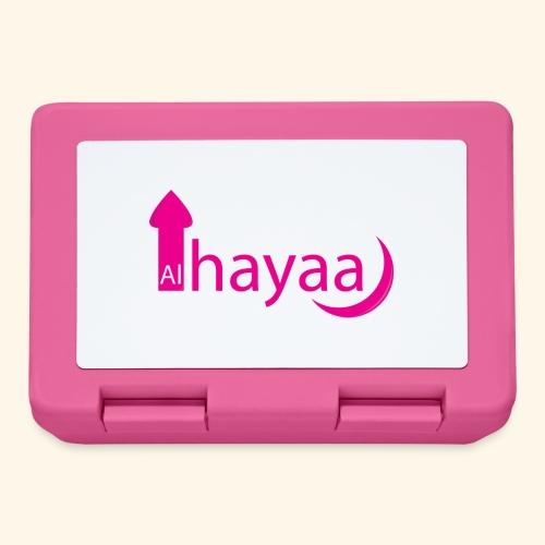 Al Hayaa - Boîte à goûter.