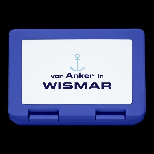 Vor Anker in Wismar - Brotdose