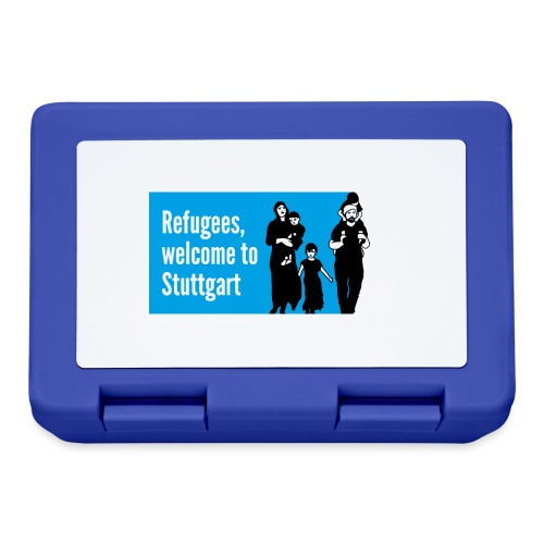 Refugees welcome - Brotdose