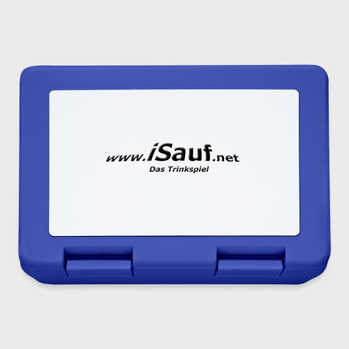 iSauf-Schriftzug - Brotdose
