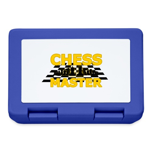 Chess Master - Black Version - By SBDesigns - Lunchbox