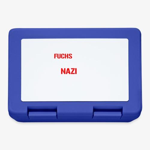 Fuchs und Nazi - Antifa - Brotdose