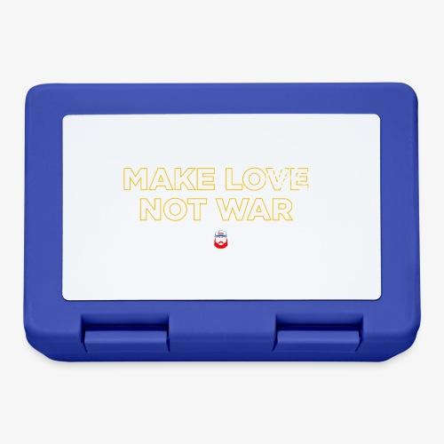Make LOGO not WAR - Lunch box