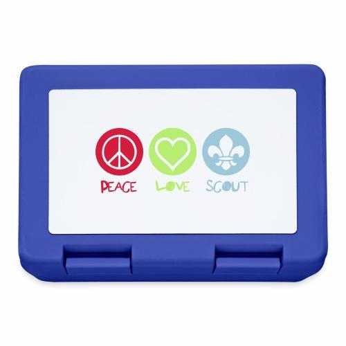 Peace Love Scout - Boîte à goûter.