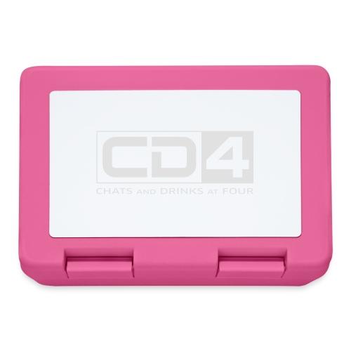 cd4 logo dikker kader bold font - Broodtrommel